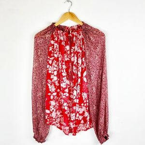 Free People Hendrix Blouse
